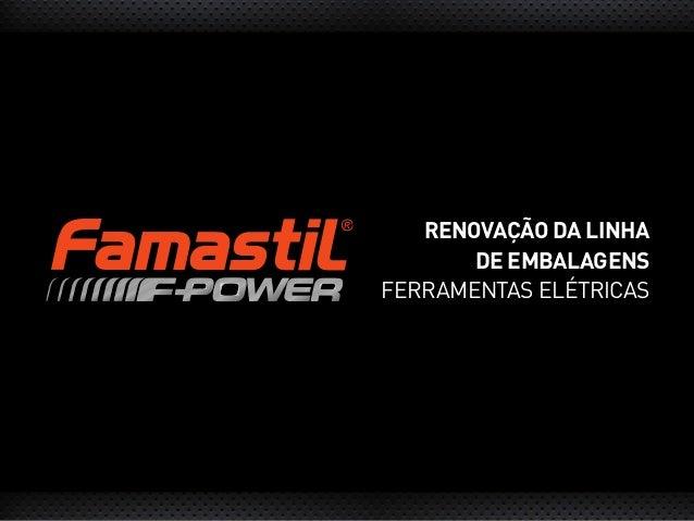 RENOVAÇÃO DA LINHA DE EMBALAGENS FERRAMENTAS ELÉTRICAS