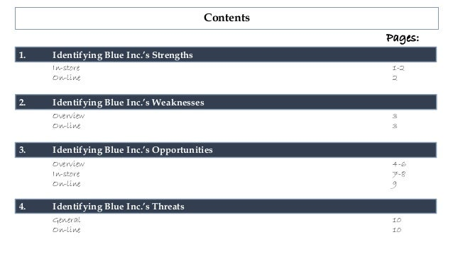virgin blue strengths weaknesses While analyzing the strengths of virgin it is evident that brand identity and comprehensive services are the front-runners weaknesses that exist are mainly due to the limited fleet size and destinations.