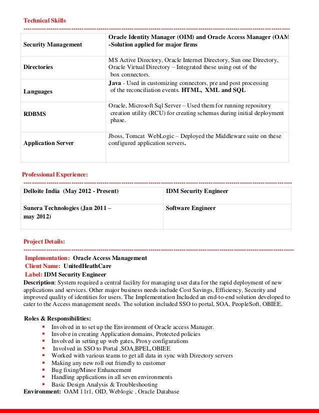 idm resume kiran