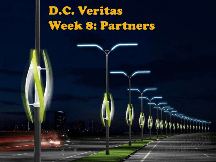 D.C. VeritasWeek 8: Partners<br />
