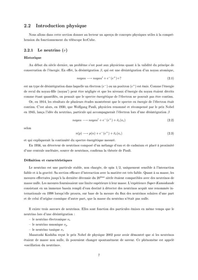 2.2 Introduction physique xous —llons d—ns ™ette se™tion donner —u le™teur un —perçu de ™on™epts physiques utiles à l— ™om...