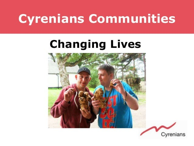 Cyrenians Communities Changing Lives