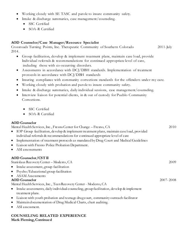 Current Resume Revised