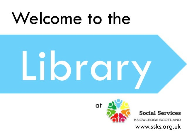 Welcome to the Library at www.ssks.org.uk