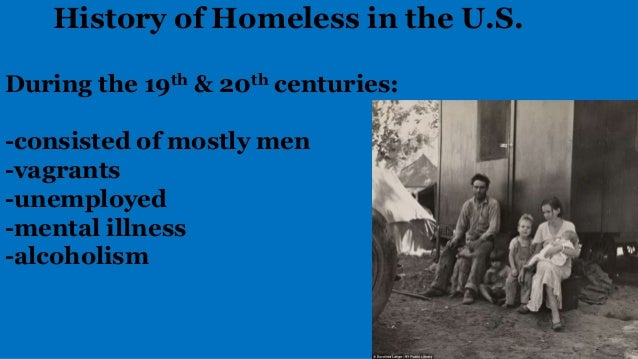 history of homelessness in america