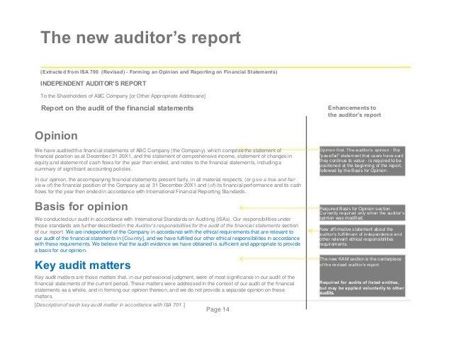Presentation on new auditor report appendix 1 illustrative auditors report page 13 16 altavistaventures Choice Image