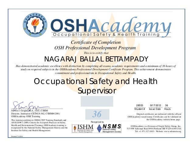 health and safety certificate template - osha training 28553 pdf 1