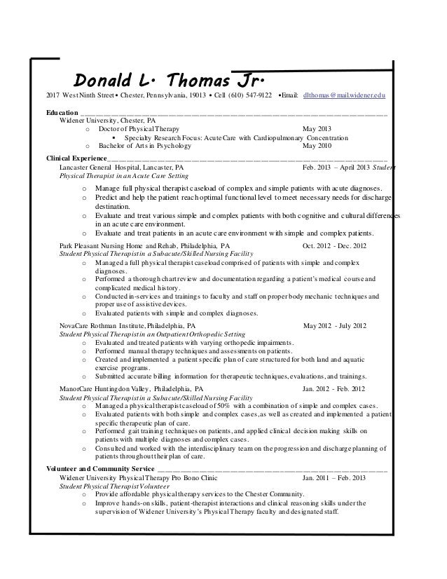 donald resume updated 2014