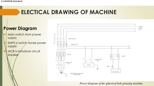 Spherical Bolt Greasing Machine 15 Electical Drawing Of Power Diagram: How To Draw A Plc Wiring Diagram At Aslink.org
