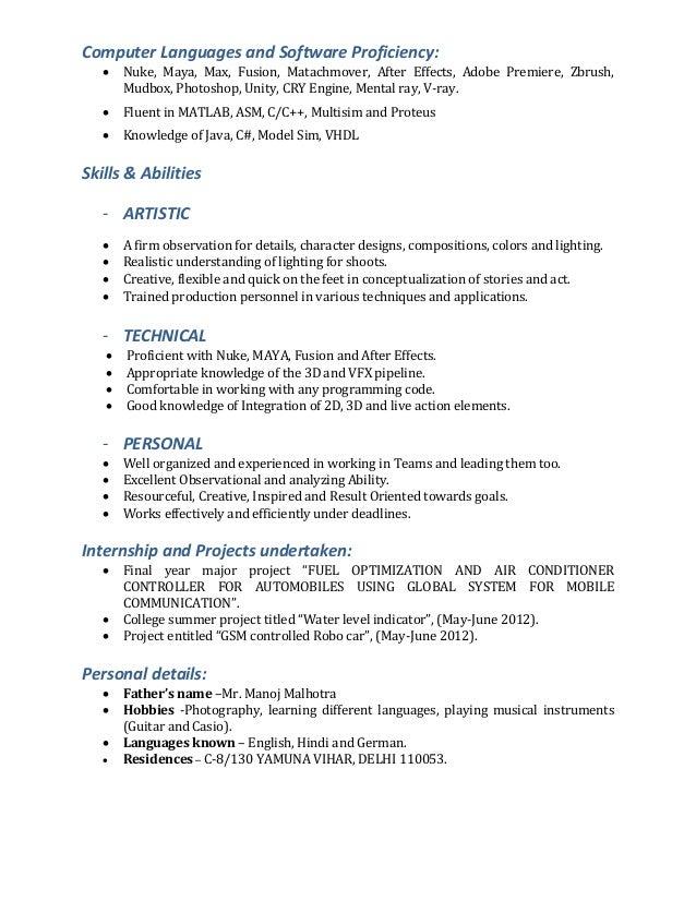 abhinav malhotra resume