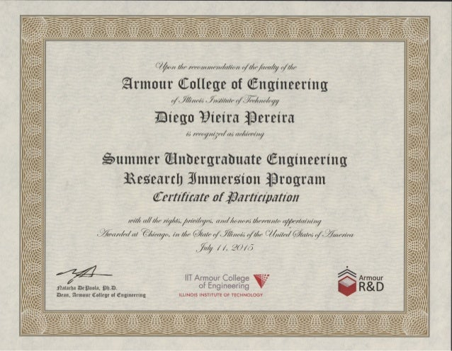 IIT SUmmer Research Certificated