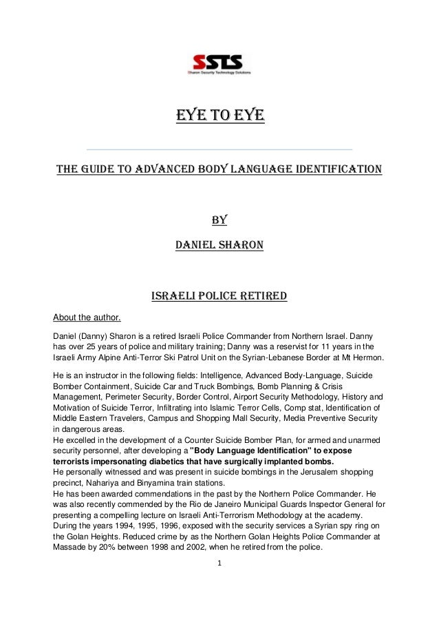 how to read body language pdf