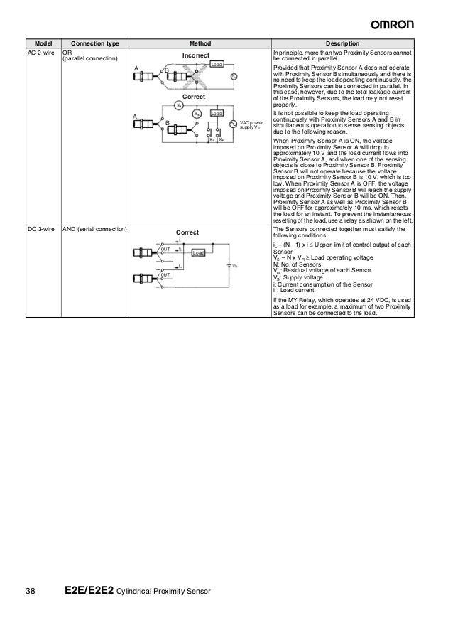 Contemporary 2wire Proximity Sensor Elaboration - Wiring Diagram ...