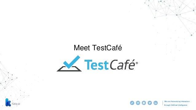 E2 e test with testcafe