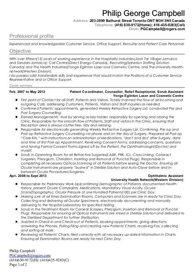 philip resume