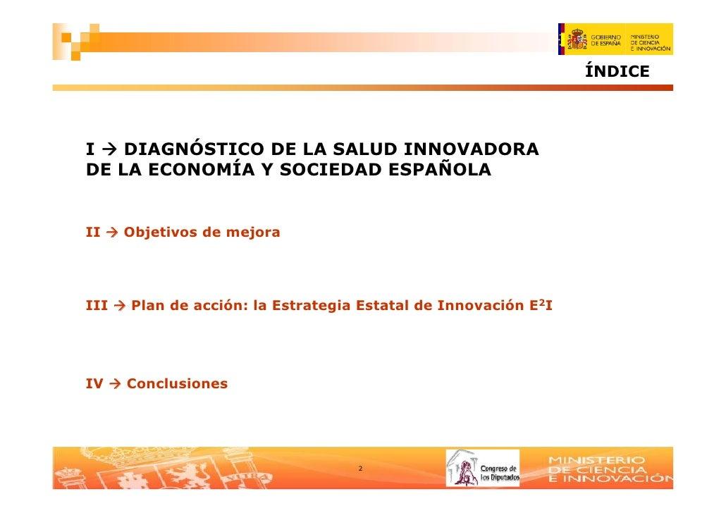 E2 I- Estrategia Estatal de Innovación Slide 2