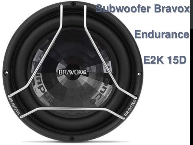 Subwoofer Bravox Endurance E2K 15D