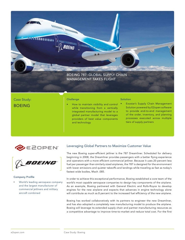 diagnose for change boeing case study Soaring ambitions and hard realities: the boeing 787 dreamliner and flight safety supply chain, strategy, institutional isomorphism, airplanes abstract the case.