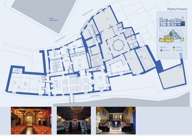 Projecte Restauració i museització del Palau Maricel de Terra .Sitges