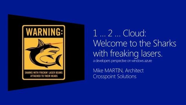           Mike Martin Architect MEET Member Crew Member of Azug Windows Azure Insider Windows Azure MVP @Techmike...