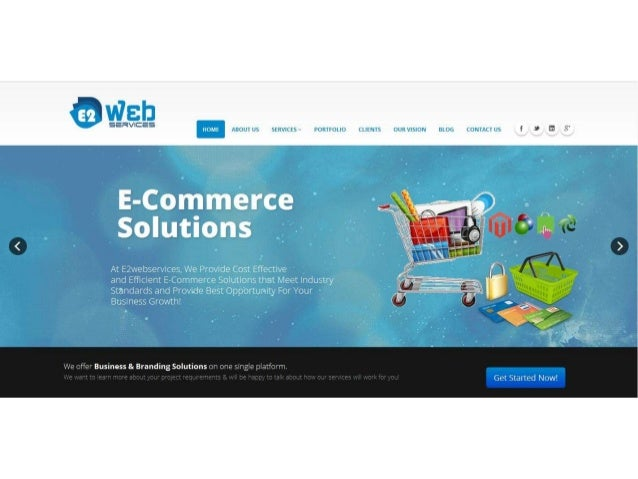 E-Eonsrnerace Soititinns  At Ezwebservlces,  We Provide Cost Effective  and Efficient Ecommerce Solutions that Meet Indust...