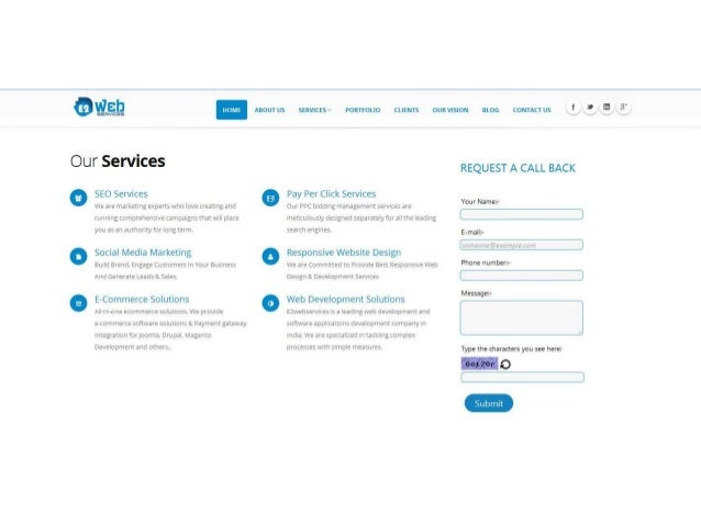 an  n ABOUT US SERVICES'?  PORTFOLIO CLIENTS OUR VISION BLDG CONTACT US .  I  Our Services  REQUEST A CALL BACK  SEO Servi...