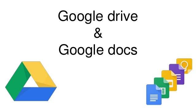 google drive docs presentation