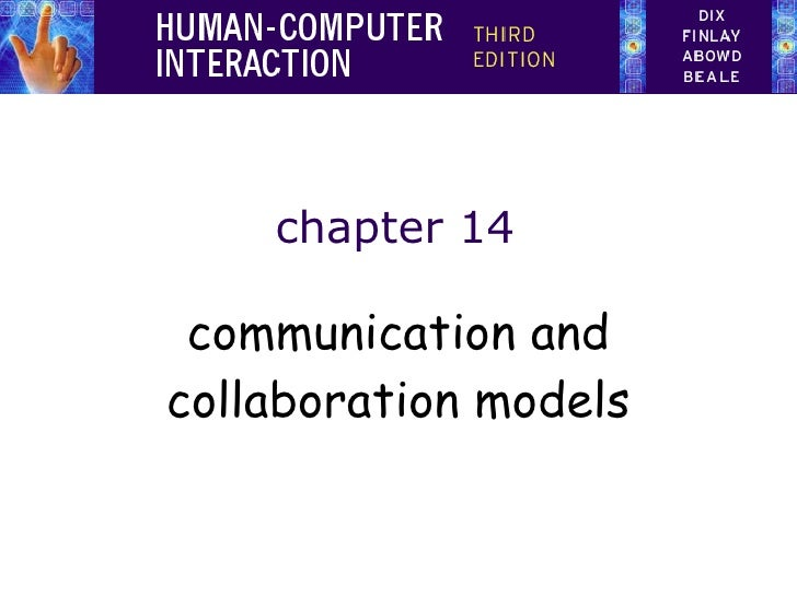 chapter 14 communication and collaboration models