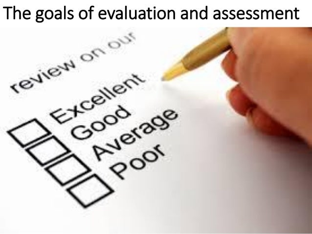Keys to success with assessment and evaluation – Assessment
