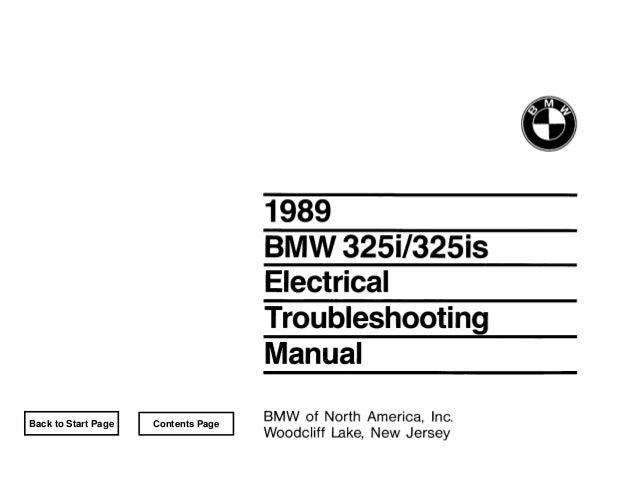 Bmw E30 Wiring Diagramrhslideshare: Bmw 325i 1989 Schematic Diagram At Gmaili.net