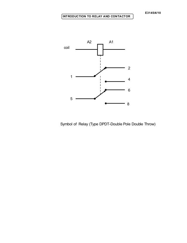 Cute Spdt Relay Symbol Images - Simple Wiring Diagram Images ...