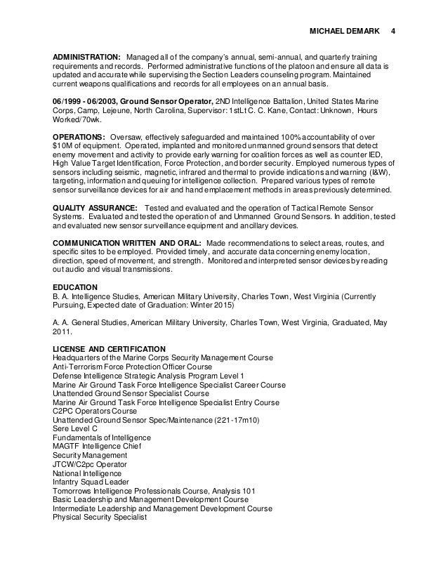 Doc Intelligence Officer Job Description Top