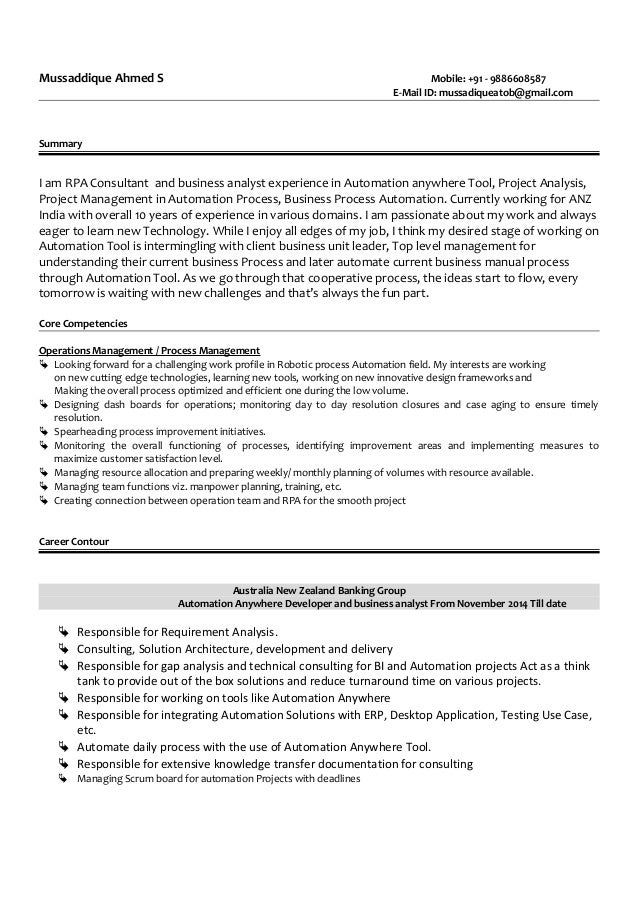 Mussadique resume for Experience design consultant