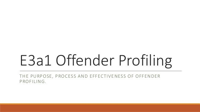 offender profiling The process of using behavioral evidence left at a crime scene to make inferences about the offender, including inferences about personality characteristics and psychopathology is called criminal profiling.