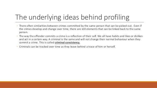 ea offender profiling criminal profiling 3
