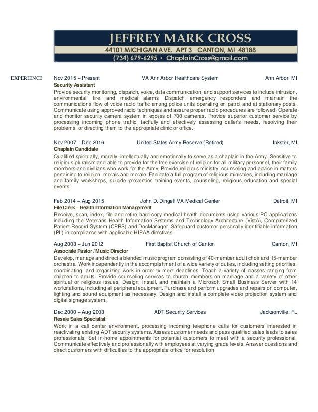 jeffrey cross business resume everything - Health Information Management Resume