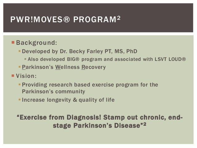 Parkinsons and exercise2