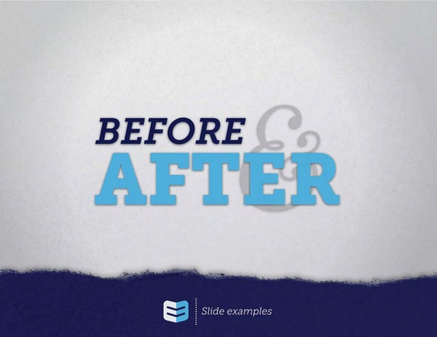 Before & After: Too Much Text