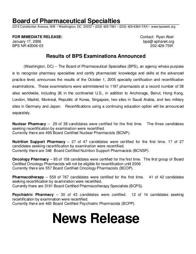 2006 03bps Announcement