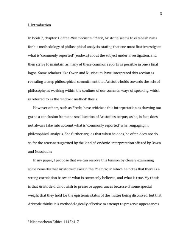 Writing The Perfect Essay  Features  Nursing Times Thesis Binding  Aristotle S Nicomachean Ethics Summary Analysis Video Aristotle Nicomachean  Ethics Essay Preview