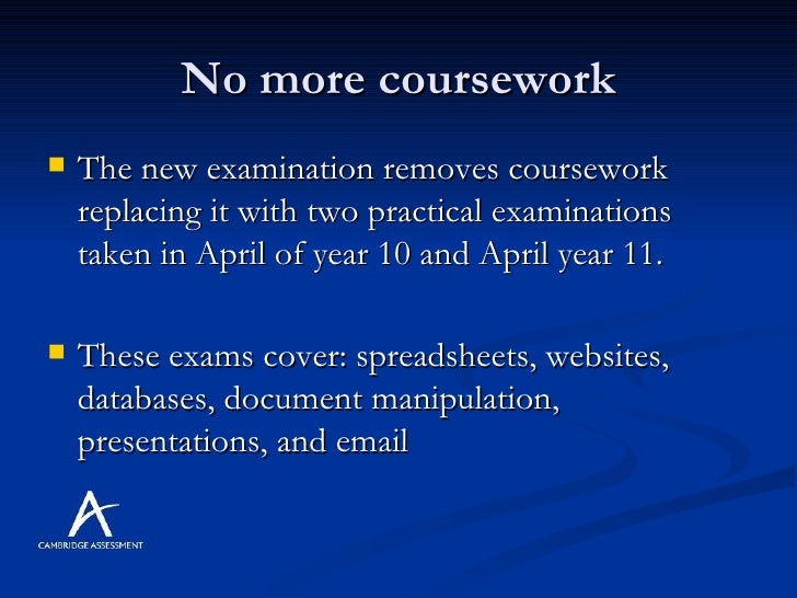 Coursework of ict student igcse