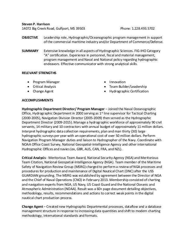 steven harrison resume