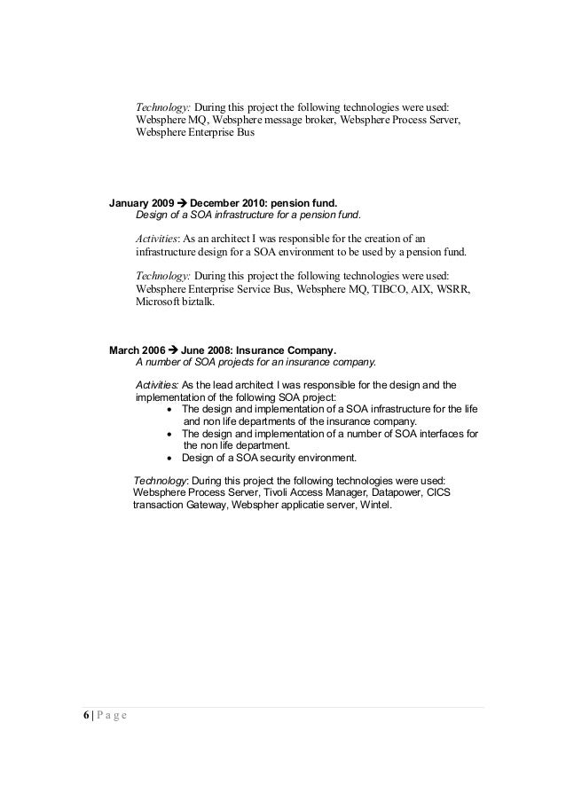 Wonderful Websphere Process Server Resume Images - Example Business ...