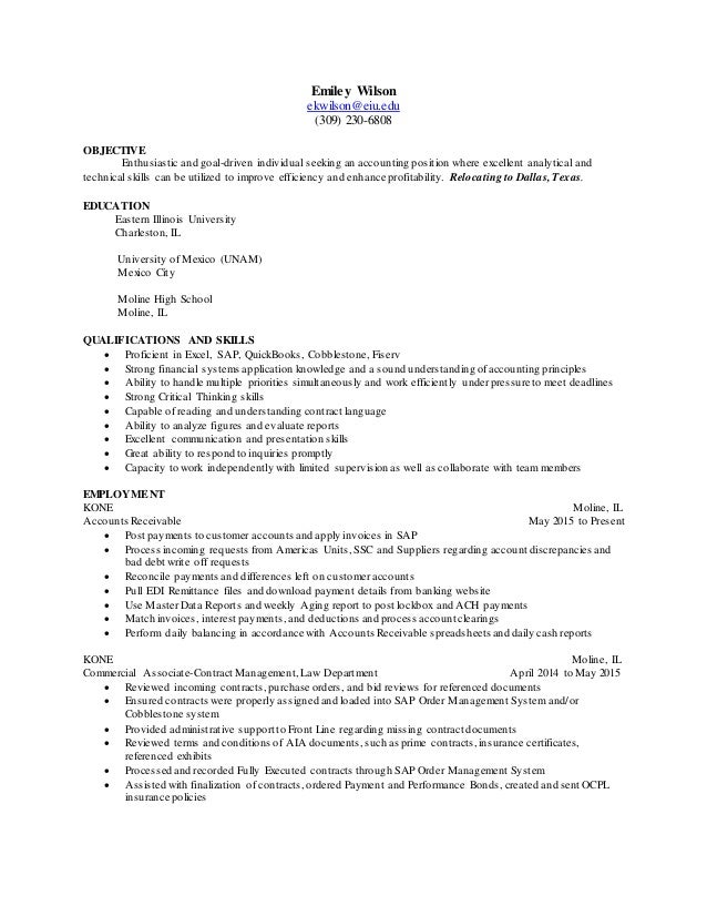 resume writing for relocating