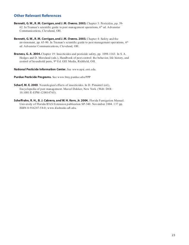 Pesticide Synthesis Handbook Pdf