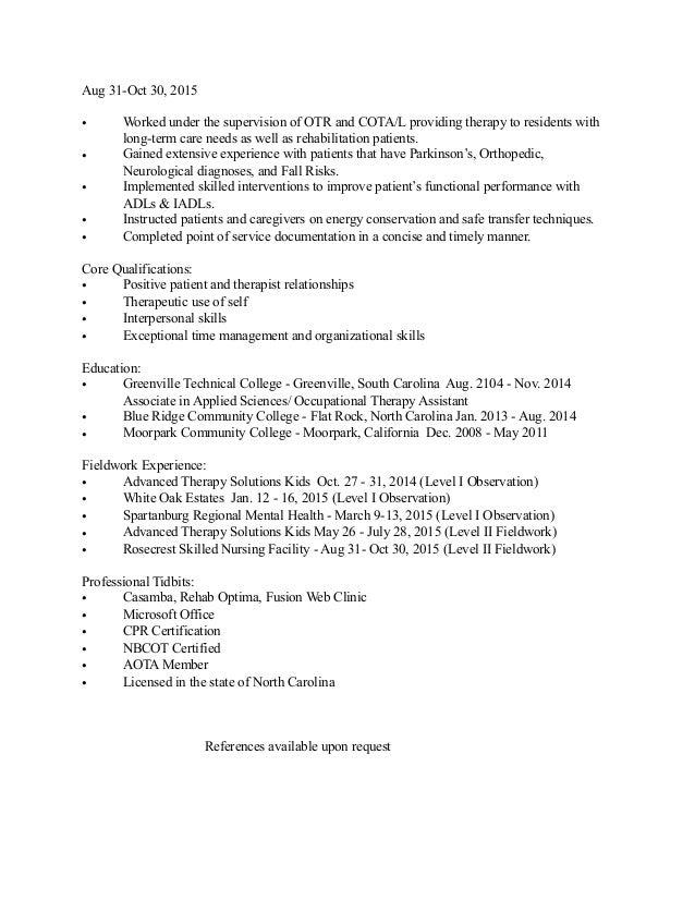 Updated Resume 4 26