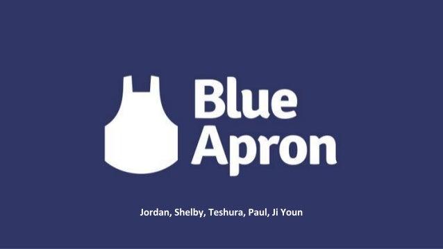 Blue Apron Background