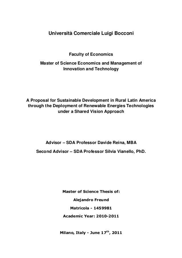 Sustainable development master thesis dissertation histoire du droit rvolution
