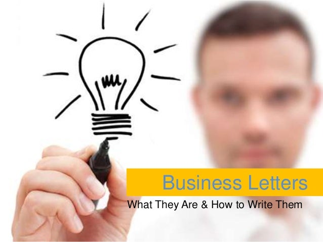Business Letters What They Are & How to Write Them