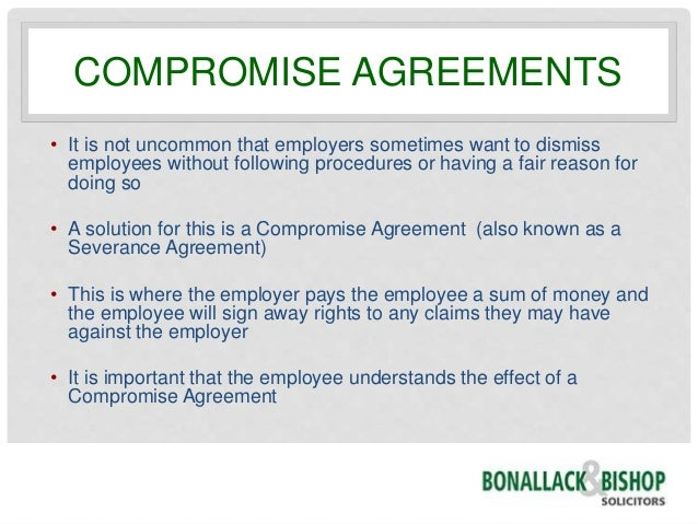Compromise Agreement S...